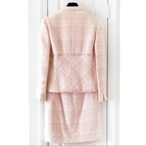 CHANEL Jackets & Coats - Iconic Chanel Vintage Spring 1995 Pink Jacket Suit